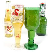 Beer #Bottle Goblets #upcycle #G2Bottle Cutter #bottleart #upcycle
