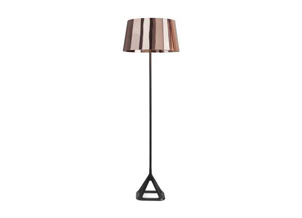 Base Copper Golvlampa Tom Dixon Copper Floor Light Floor Lights Floor Lamp Table