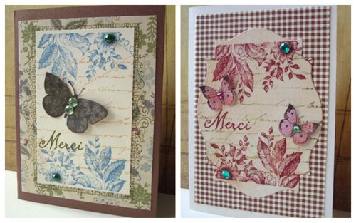 Jacqueline's Craft Nest Collage stamping