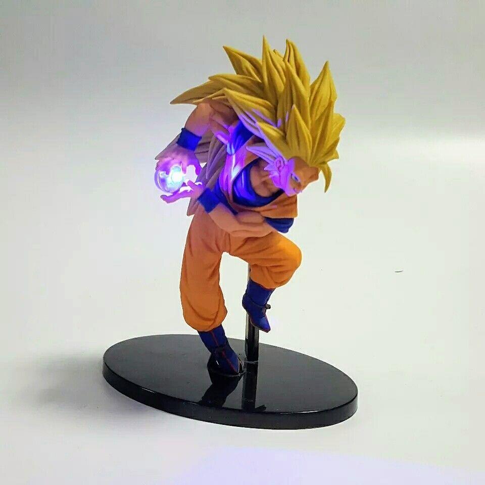 Dragon Ball Z Action Figure Son Goku Kamehameha Led Light Lamp Display Liupurhome Dragon Ball Goku Dragon Ball Z
