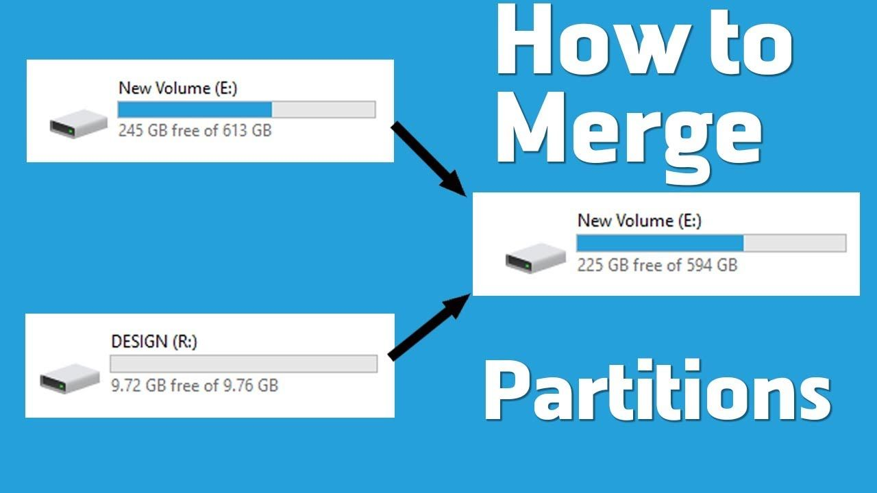 How to partitions multiple hard drives on