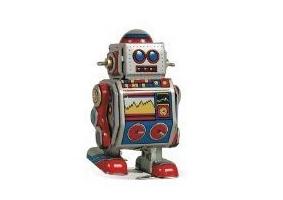 Schylling Classic Windup Robot ❤️❤️❤️❤️