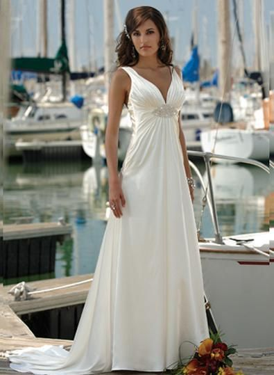 Exotic Beach Wedding Dress