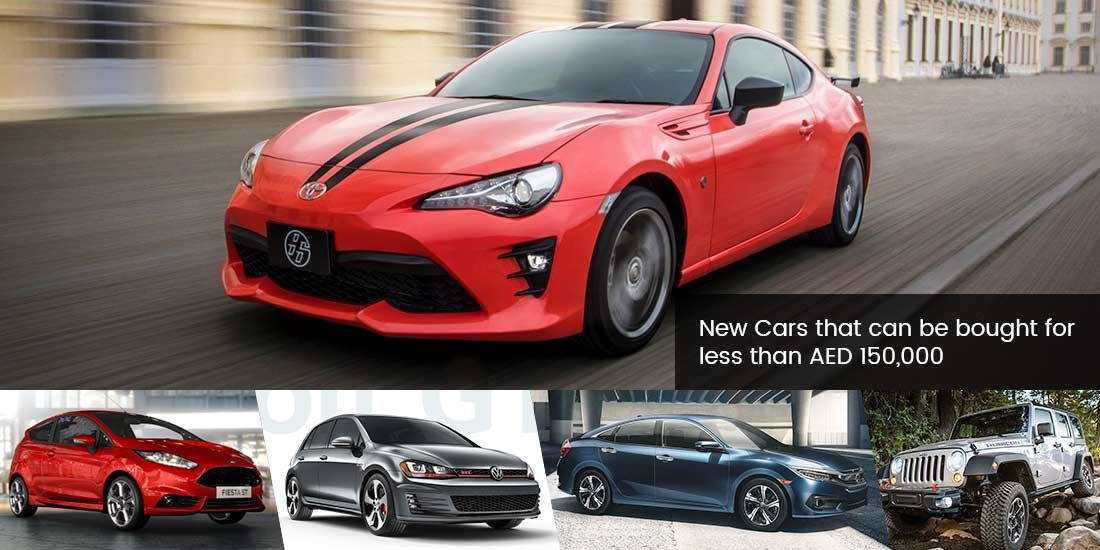 """Our pick of """"5 Best Cars under AED 150,000"""" which are available in ..."""