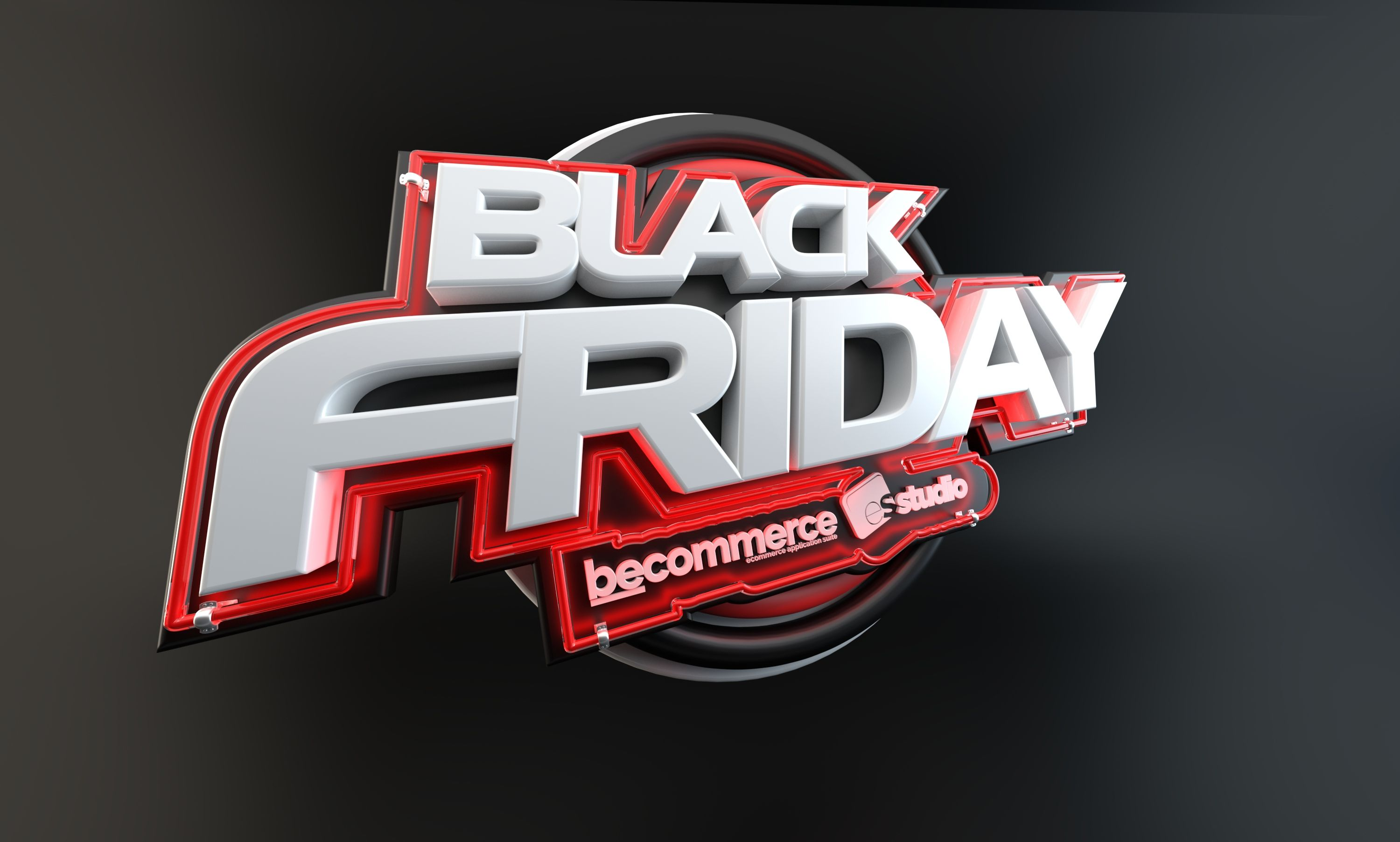 "Check out this Behance project ""Black Friday 3D Logotype"