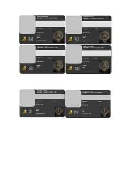 """Hunger Games """"Make Your Own District ID Cards"""" by @Carly Bartemes"""
