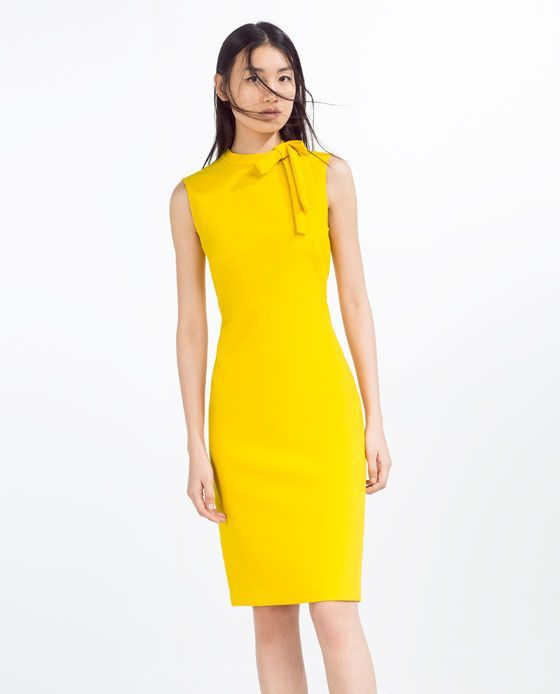 Yellow dresses for women pictures