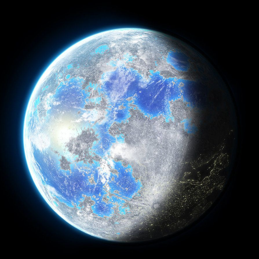 Ice ocean moon of Nebulaterra- Terraformed Moon by ... on nasa moon map, europa moon map, titan moon map, venus map, mars with oceans map, triton moon map, high resolution moon map, topographic moon map, colonized moon map, moon texture map, national geographic moon map,