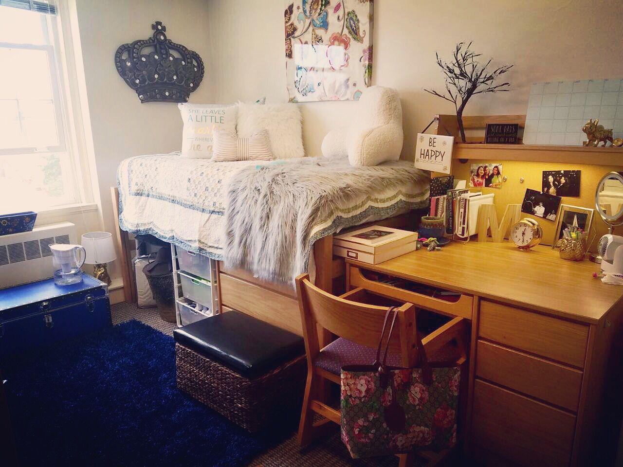Wonderful My Daughters Dorm Room At Denison University Freshman 2016, Class Of 2020 Part 4