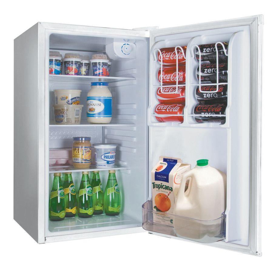 Shop Haier 3.2-cu ft Compact Refrigerator (White) at Lowes.com | Ren ...