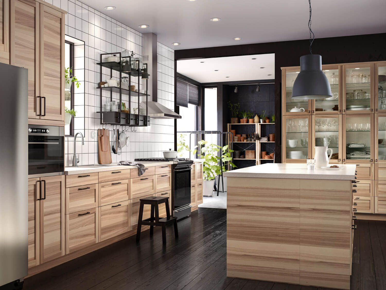 Landhausküchen aus Holz Bilder & Ideen für rustikale