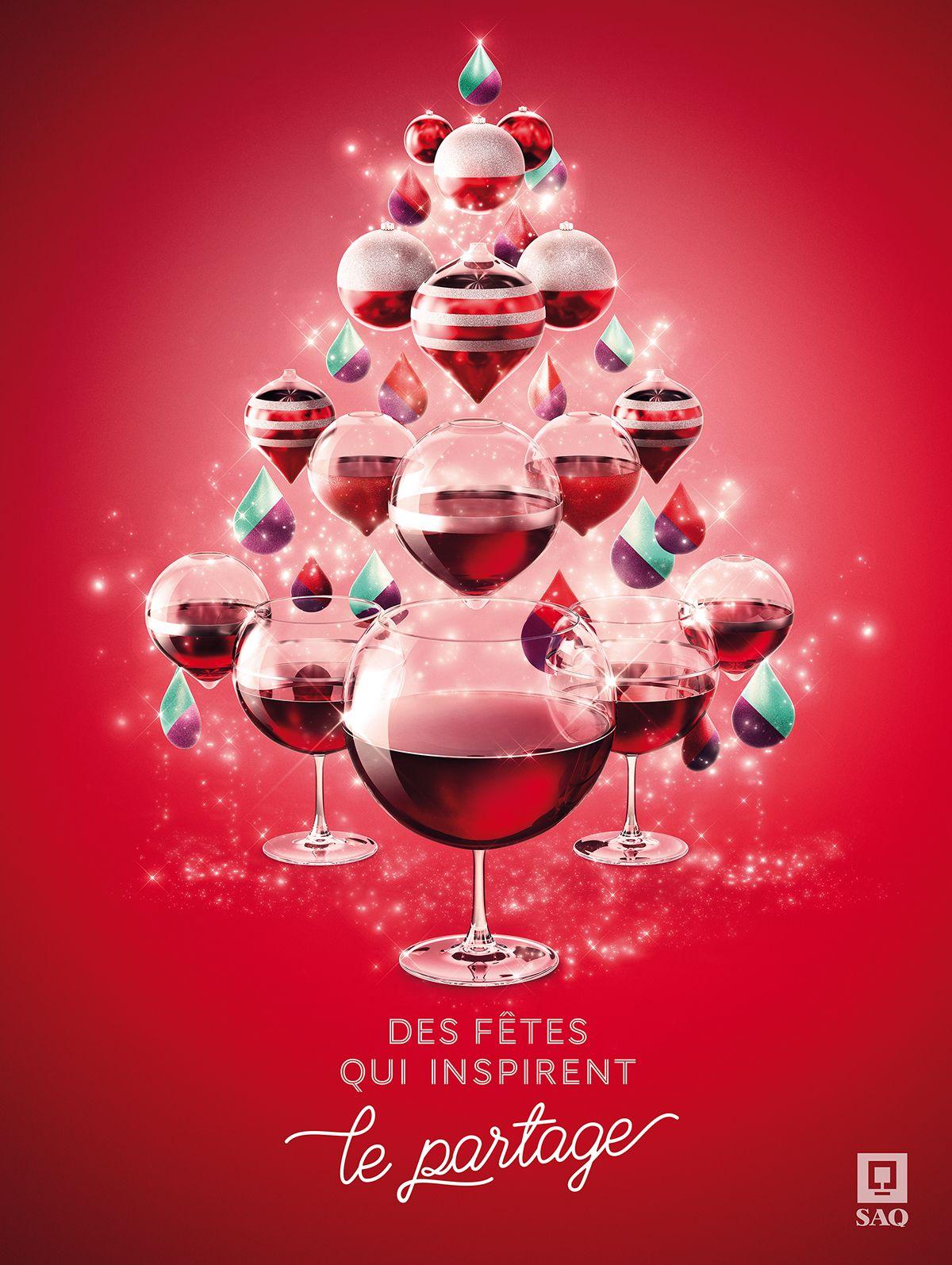 Christmas Restaurant Poster.Saq Christmas Event On Behance Festival Christmas Ad