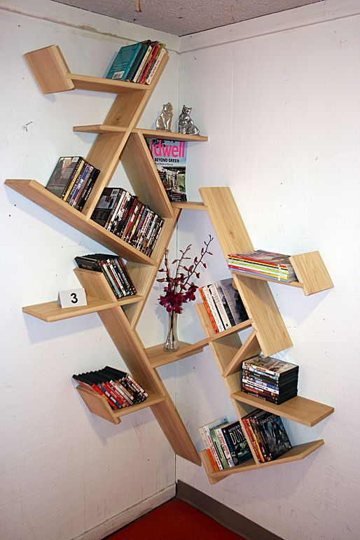 15 Creative And Decorative Shelves Corner Shelf Design Decorating Shelves Corner Bookshelves