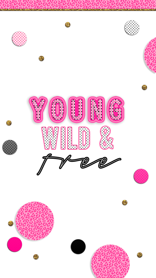 Free Adorable Phone Wallpapers Pink Black And Gold Super Girly Free Vs Pink Wallpaper Iphone Wallpaper Cellphone Wallpaper