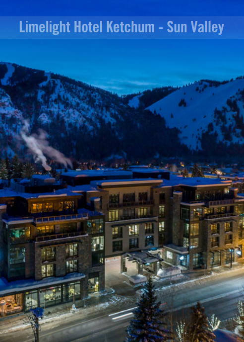 Limelight Hotel In Ketchum Idaho Is Sun Valley S Modern Luxury Enjoy The Extra