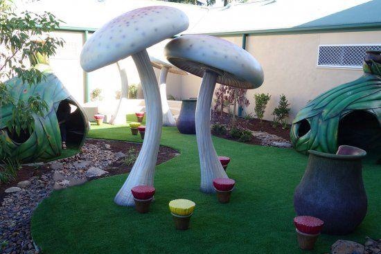 Gumnut Garden at A.B. Paterson College by Art Dinouveau. #palyequipment