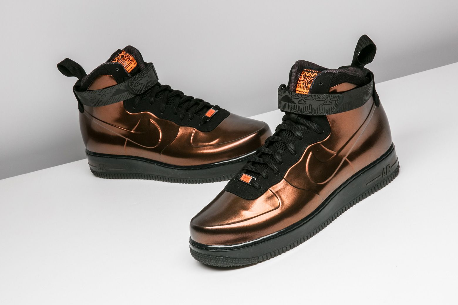 3e14831903d Released during Black History Month, this Nike Air Force 1 Foamposite  features an eye-