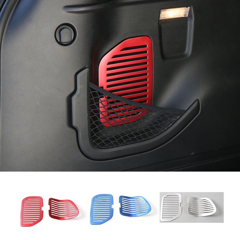 Red ABS Instrument Storage Box Switch Button Trim for Jeep Cherokee 2014-2016