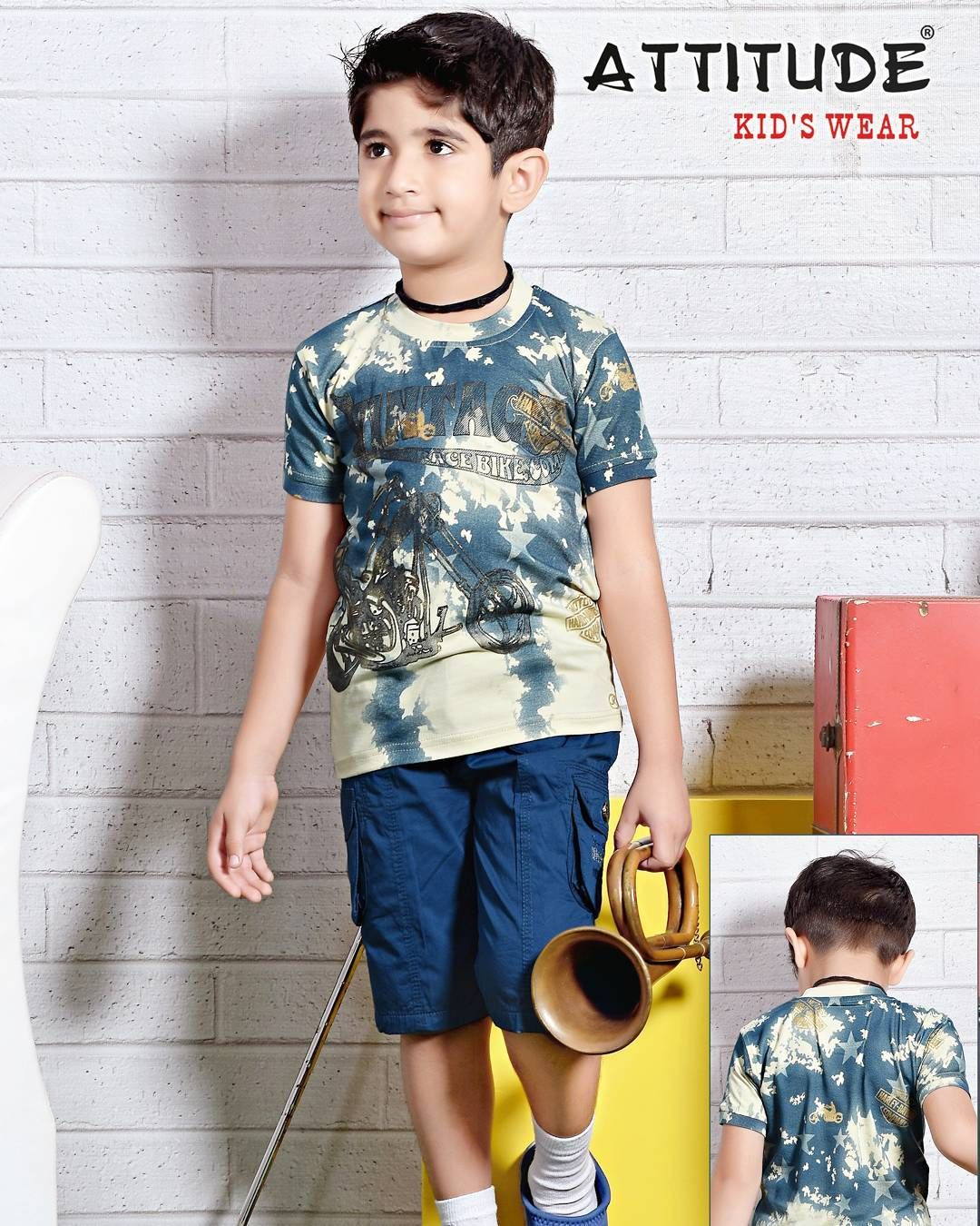d87e21b53 Fresh and ready to wear straight from the sets of our production houses Wear  #AttitudeKidsWear and flaunt the summer look #Kids #Garments #Boys #Clothing  ...