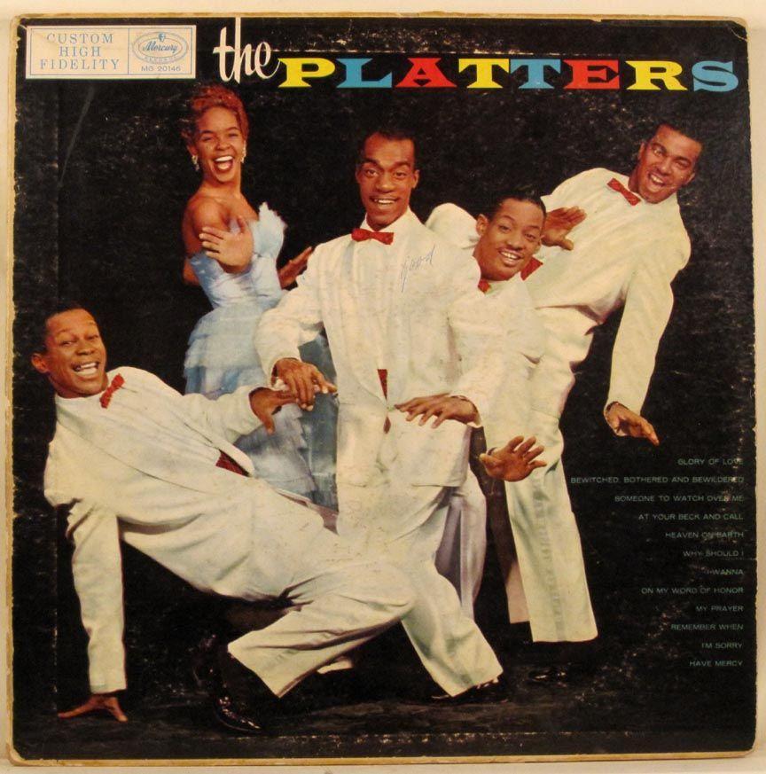 The Platters The Platters 1956 Super Soul Album Art