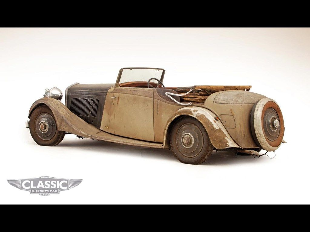 1934 BENTLEY 3 1/2 LITRE by Thrupp for sale   Classic Cars For Sale ...