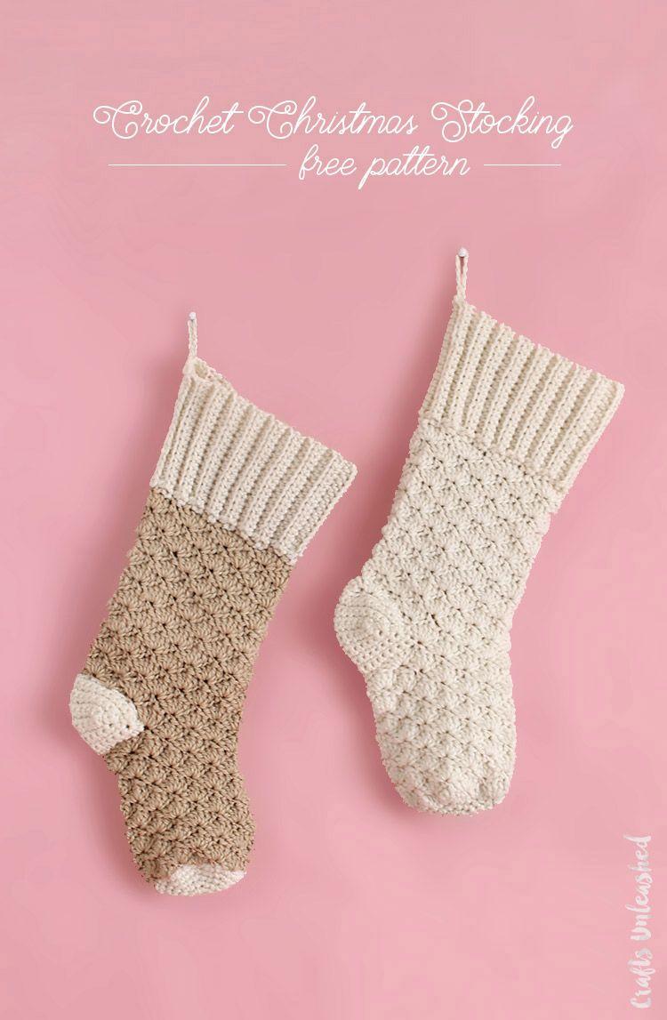 Crochet Stocking Pattern: Free Tutorial - Consumer Crafts | Stocking ...