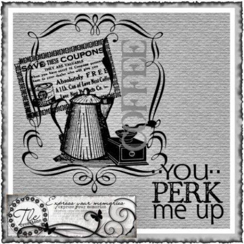 You Perk Me Up Vintage Set
