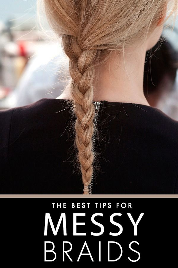5 Rules of Messy Braids That Actually Last #messybraids
