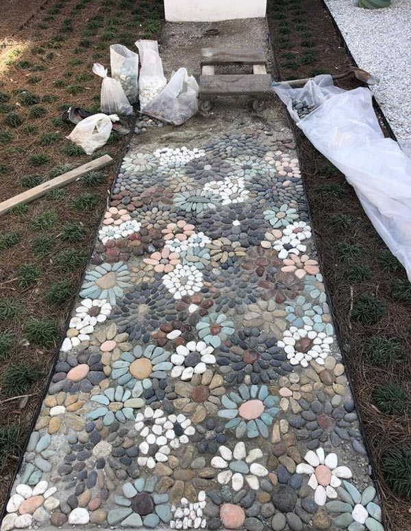 Simple and cute DIY mosaic ideas for your garden and yard