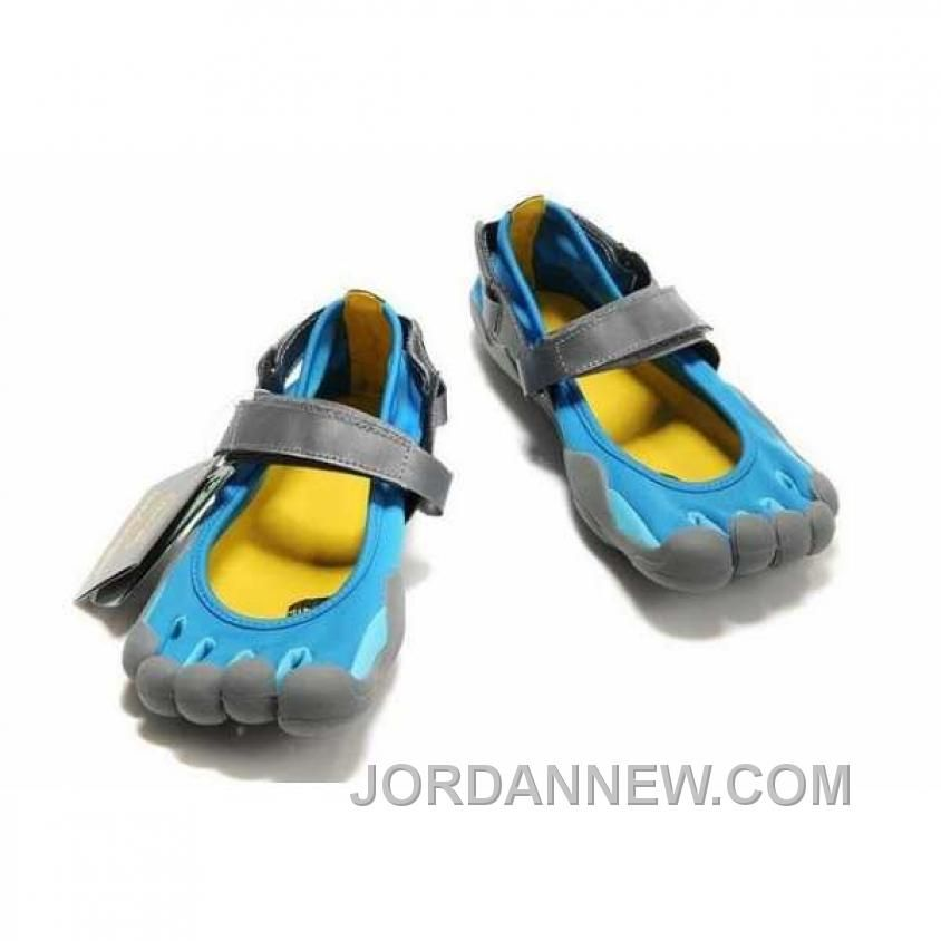 Now Buy Vibram Sprint Mens Blue Gray 5 Five Fingers Shoes Hot Save Up From  Outlet Store at Footlocker.
