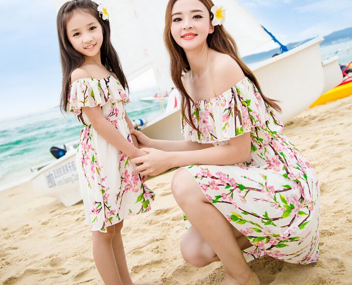 e4f650f8b8 Pin by Nataly Smith on Aliexpress Fashion | Mother daughter dresses ...