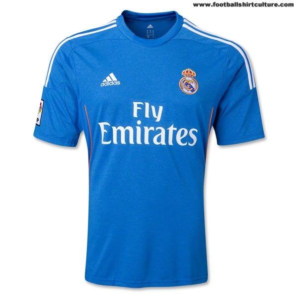 876a1065adc Real Madrid 13/14 Adidas Away Football Shirt | Real Madrid | Real ...