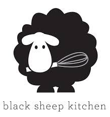 Black Sheep Kitchen Logo Sheep Logo Black Sheep Animal Silhouette