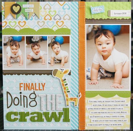 Scrapbook & Cards Today: Finally Doing The Crawl L