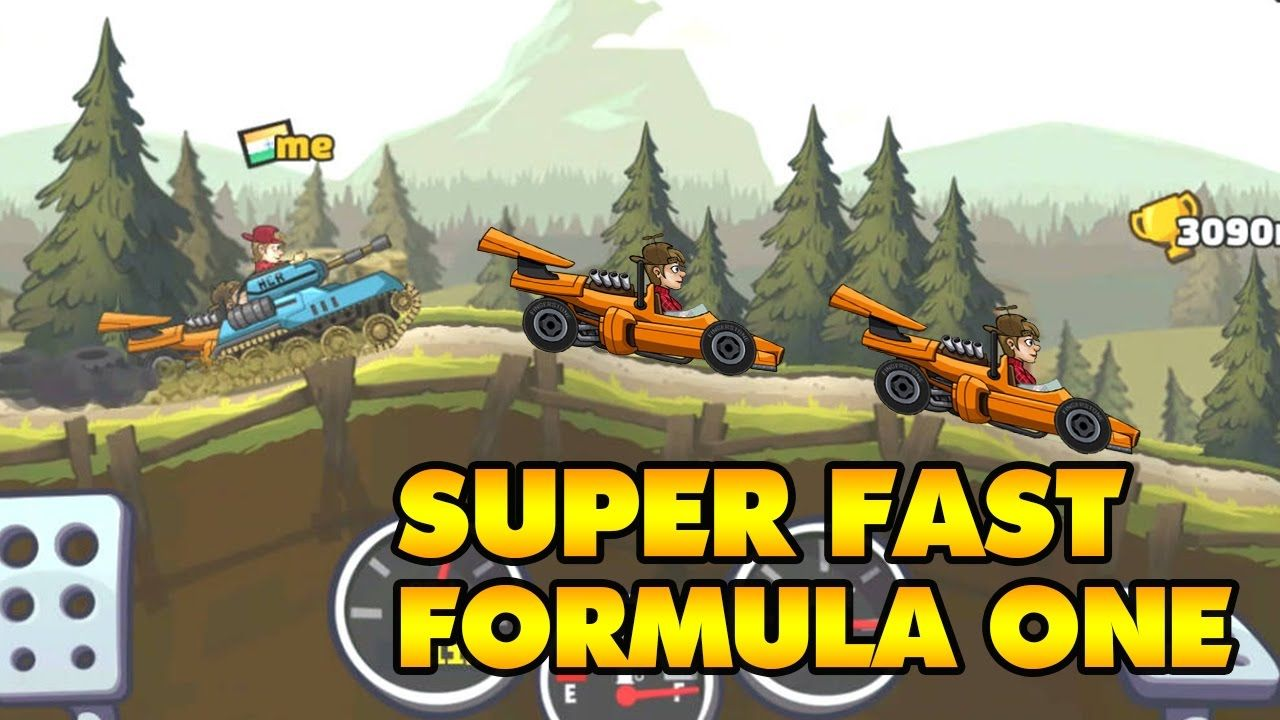 hill climb racing 2 tank vs formula car racing games for kids
