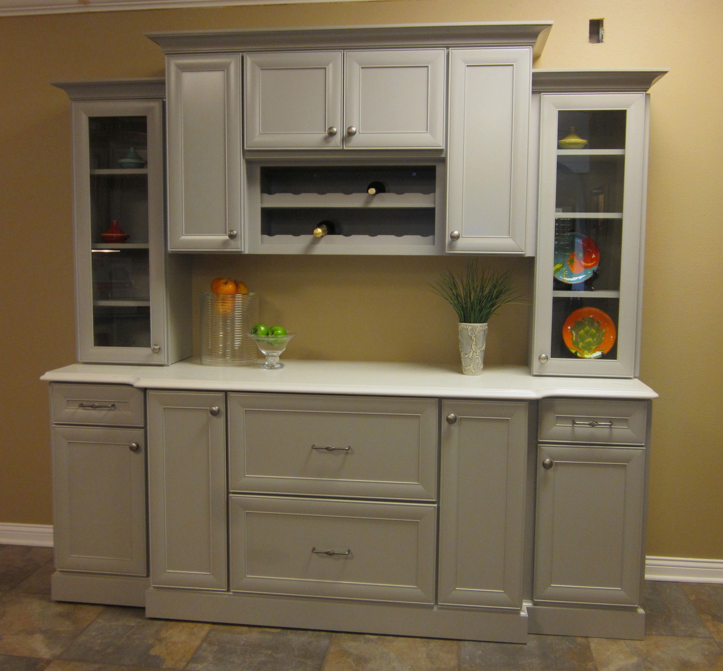 Merrilat Dusk Color Cabinets: The Mew, Mitered Doorstyle Is Bayville, The Cabinetry Line