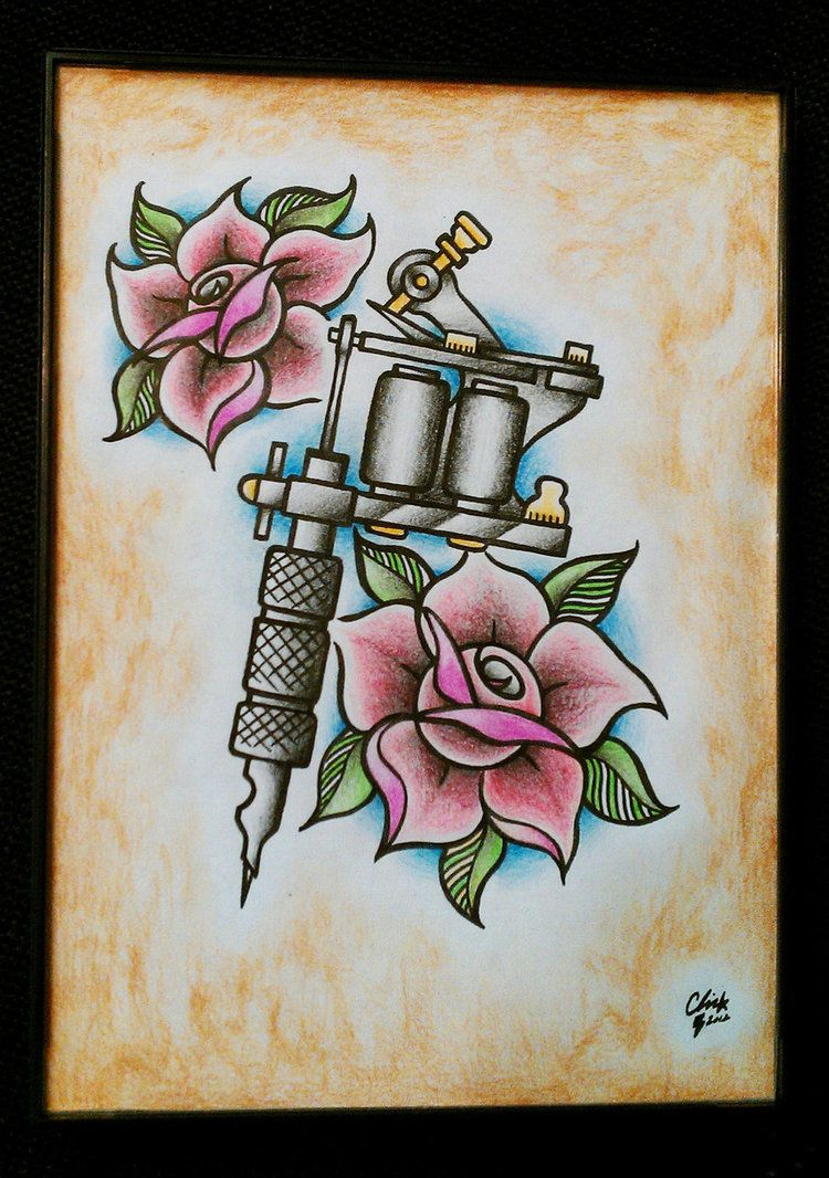 Tattoo machine traditional by ch1pm0nk on deviantart tradicional tattoo machine traditional maxwellsz