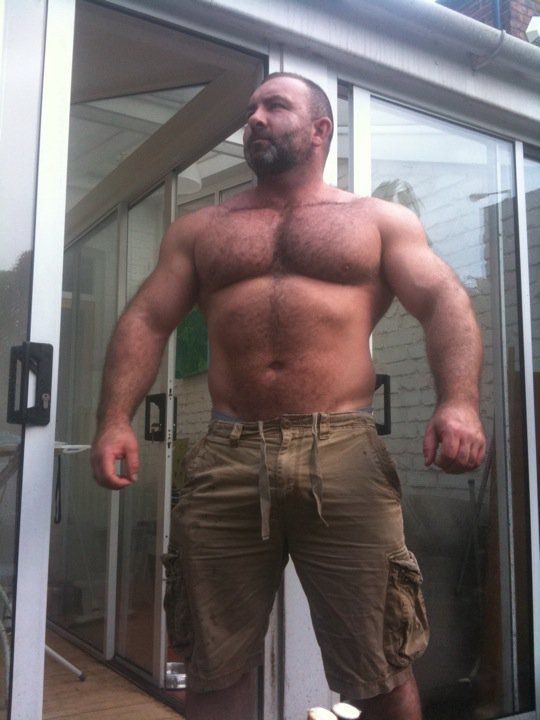 Big thick hairy men nude