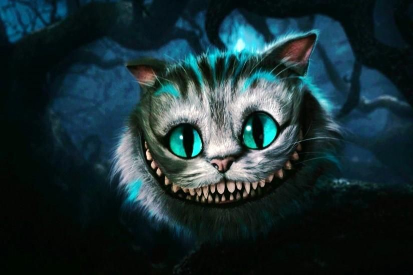 Cool Cheshire Cat Wallpaper 1920x1200PX