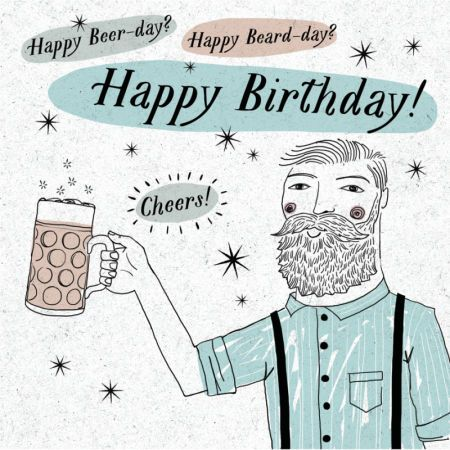 Andrew Smith Happy Birthday Beer Beard Hipster Male Andrew Smith Birthday Wishes Happy Birthday Beard Happy Birthday Beer