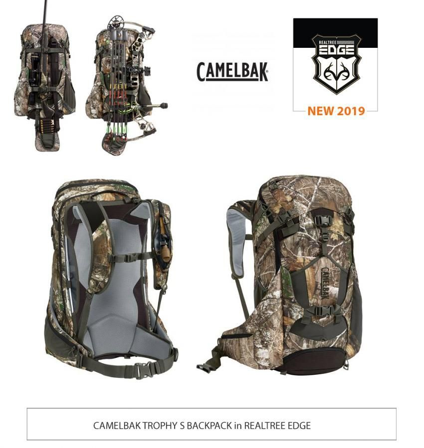 8386a638c Camelbak Trophy S Backpack in Realtree EDGE