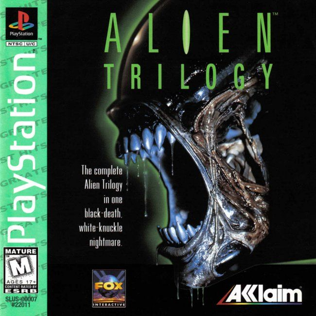 Comprar Jogos Ps 2 Xbox 360 Dvd Xbox360 Playstation 2 Ps2: Jogo Alien Trilogy Para PlayStation PSX PS1 PSONE PS2