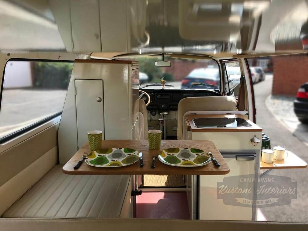 Exceptional KI Westy Camper Interior In Classic Colours   VW Camper Interiors   Camper  Conversions   Kustom