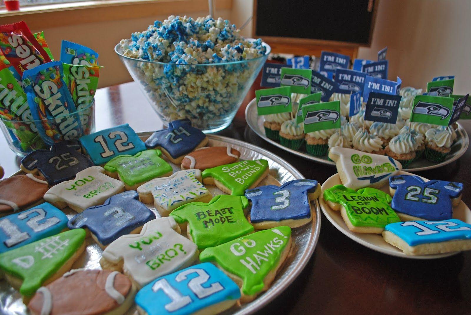 seahawks party food ♥ Football season snacks, Superbowl