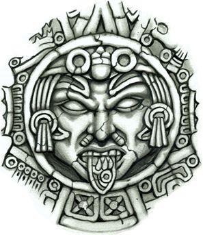 Aztec Sun Medallion �...