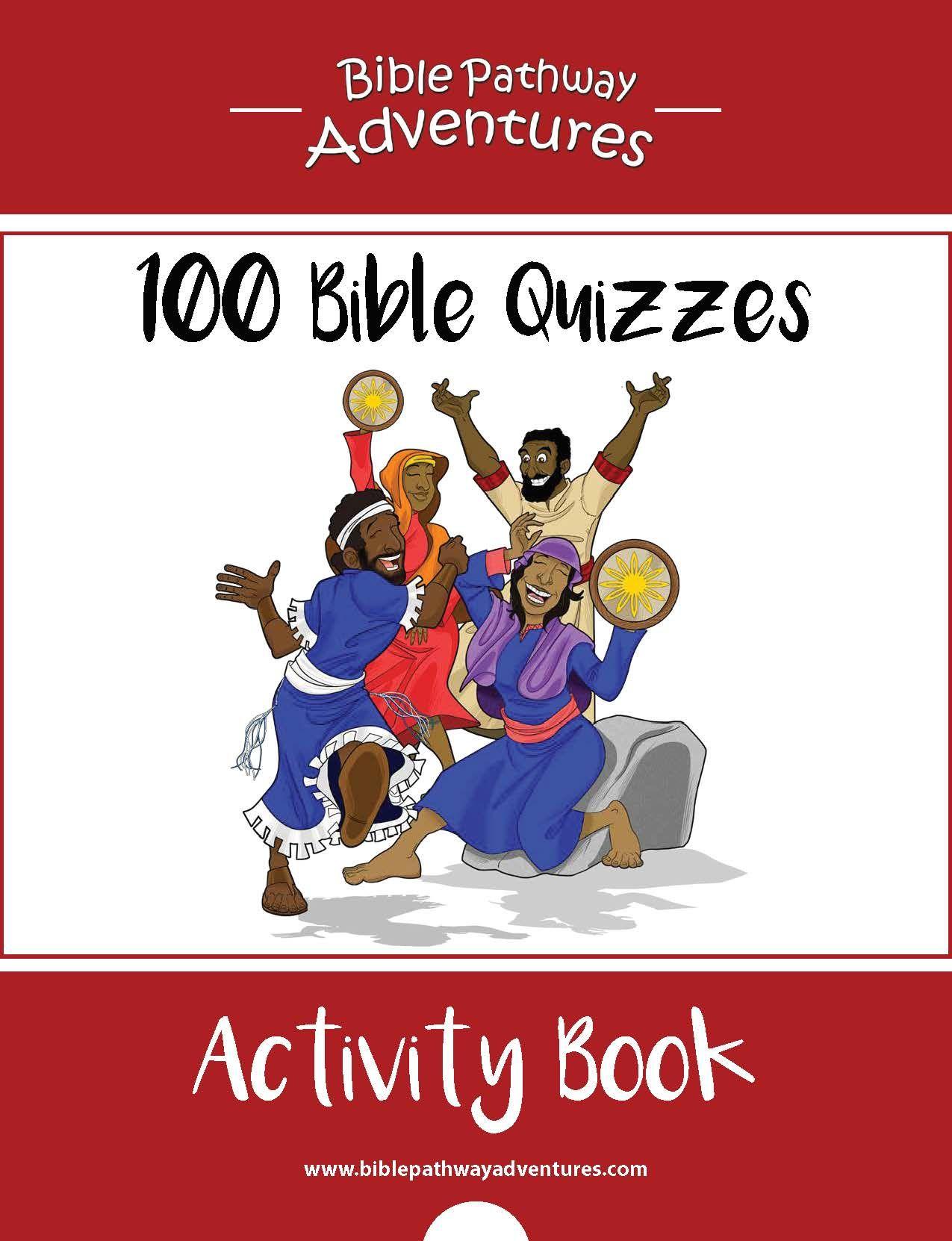 100 Bible Quizzes Activity Book | Pinterest | Quizzes, Bible and ...