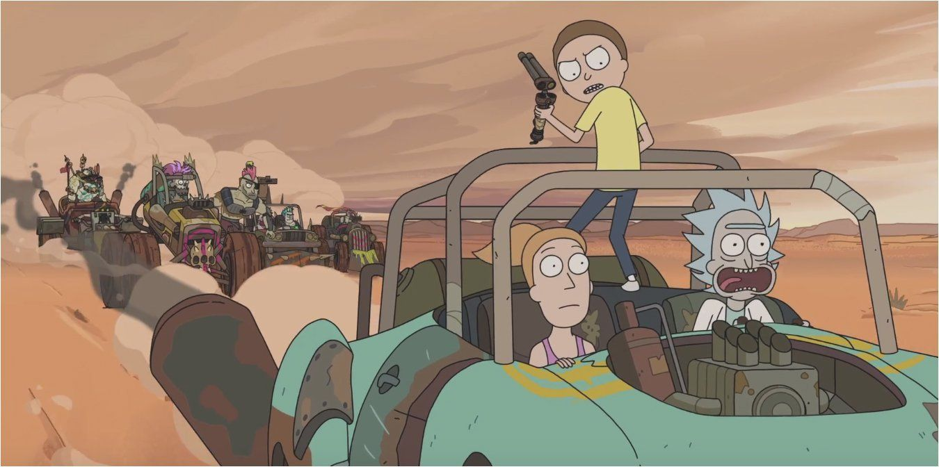 Watch A Rick And Morty Season 3 Sneak Peek And 2017 Comic Con