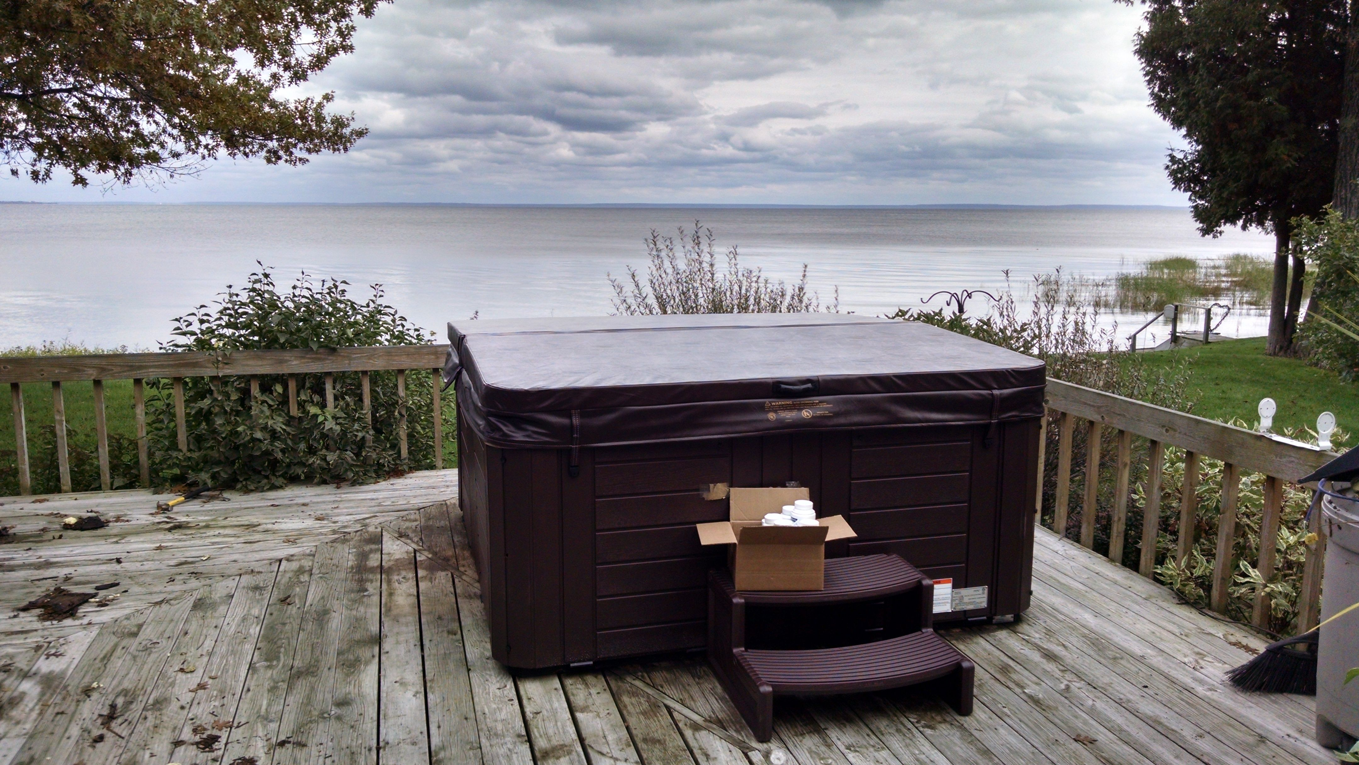 Here Is A Master Spas Healthy Living Hot Tub With