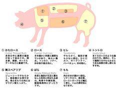 豚肉部位別名称 ม ร ปภาพ