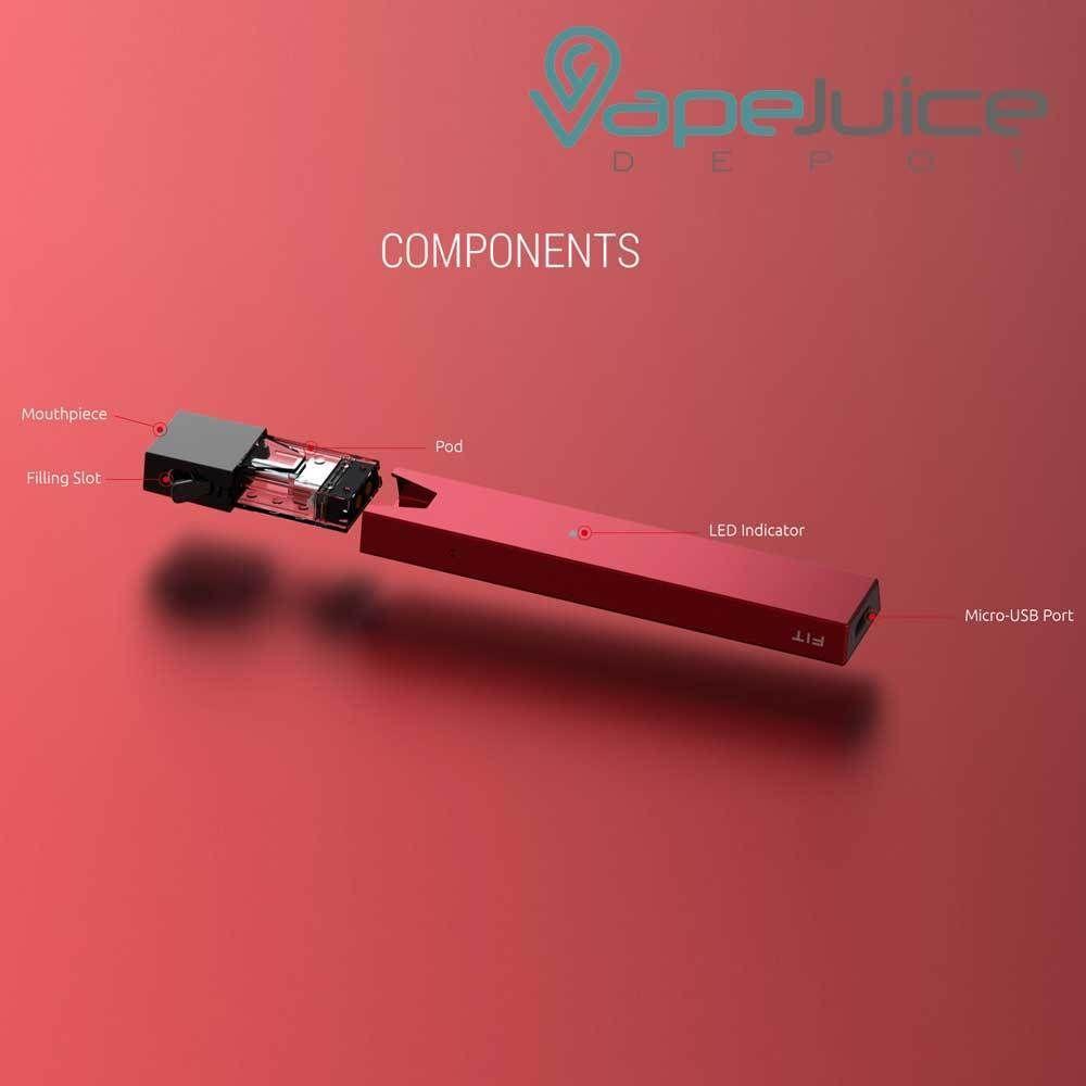 Smok Fit Kit Open Pod System By Smoktech Vape Vape Design System